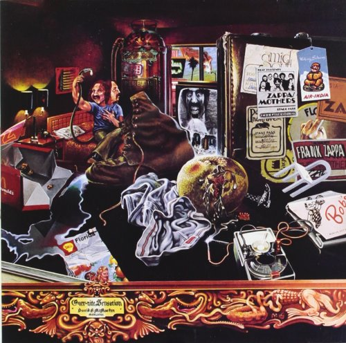 Frank Zappa Dirty Love cover art