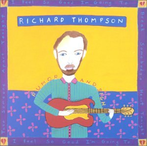 Richard Thompson 1952 Vincent Black Lightning cover art