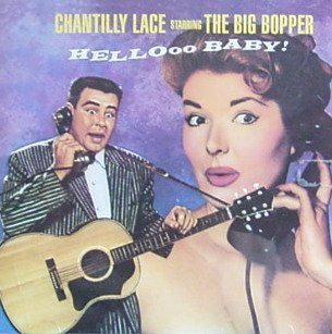 The Big Bopper Chantilly Lace cover art