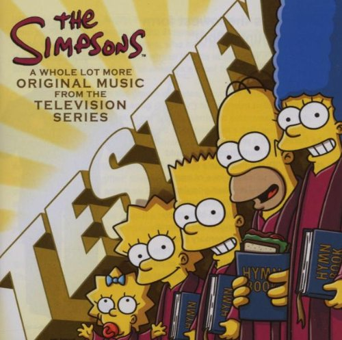 The Simpsons Dancing Workers' Song cover art