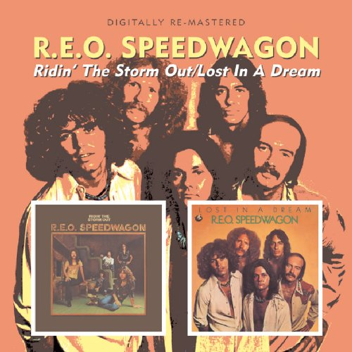 REO Speedwagon Ridin' The Storm Out cover art