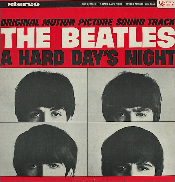 The Beatles A Hard Day's Night cover art