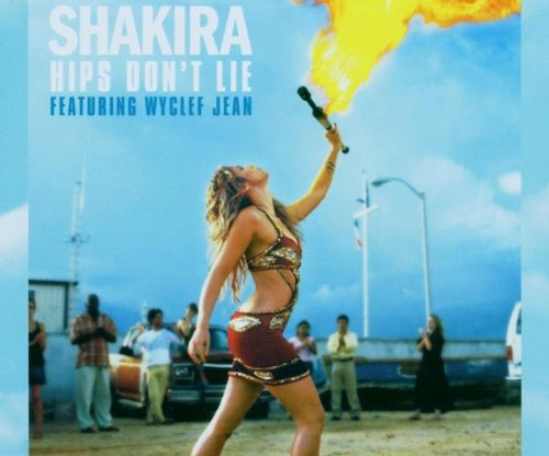 Shakira Hips Don't Lie (feat. Wyclef Jean) cover art