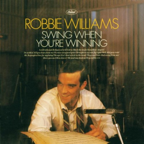 Robbie Williams and Nicole Kidman Somethin' Stupid cover art