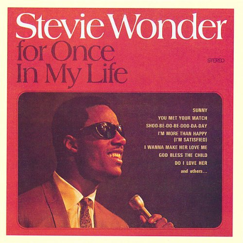 Stevie Wonder For Once In My Life cover art