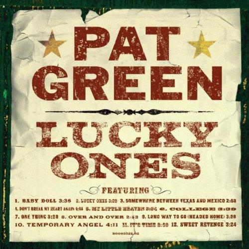 Pat Green Don't Break My Heart Again cover art