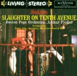 Richard Rodgers Slaughter On Tenth Avenue l'art de couverture