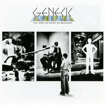 Genesis The Lamb Lies Down On Broadway cover art