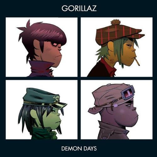 Gorillaz Dare cover art