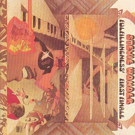 Stevie Wonder Boogie On Reggae Woman cover art