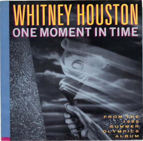 Whitney Houston One Moment In Time cover art