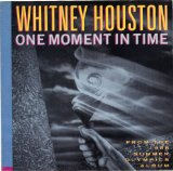 Whitney Houston One Moment In Time l'art de couverture