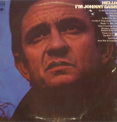 Johnny Cash & June Carter If I Were A Carpenter cover art