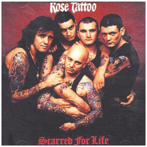 Rose Tattoo We Can't Be Beaten cover art