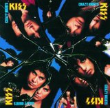 KISS Crazy Crazy Nights arte de la cubierta