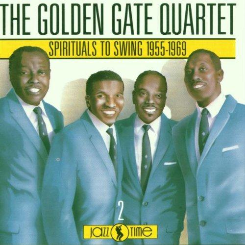 The Golden Gate Quartet Go Down Moses cover art