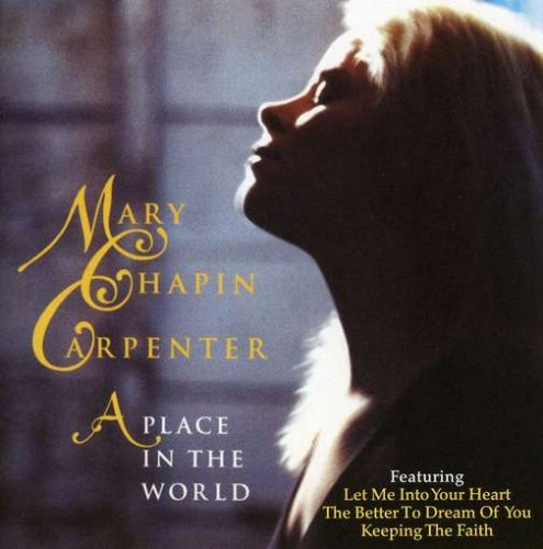 Mary Chapin Carpenter A Place In The World cover art