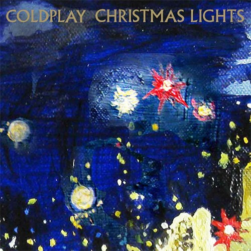 Coldplay Christmas Lights cover art