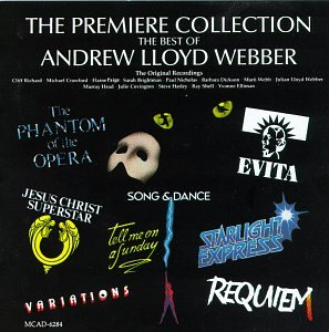 Andrew Lloyd Webber Make Up My Heart cover art
