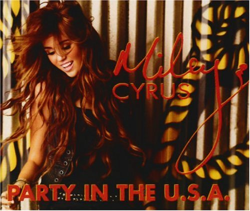 Miley Cyrus Party In The USA cover art