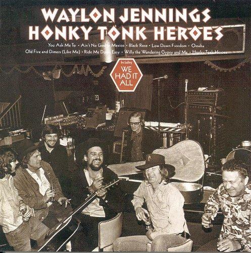 Waylon Jennings Ride Me Down Easy cover art