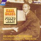 Earl Hines Piano Man arte de la cubierta
