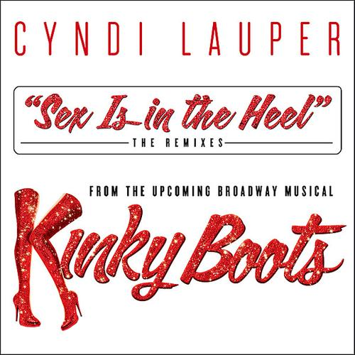Cyndi Lauper Sex Is In The Heel cover art
