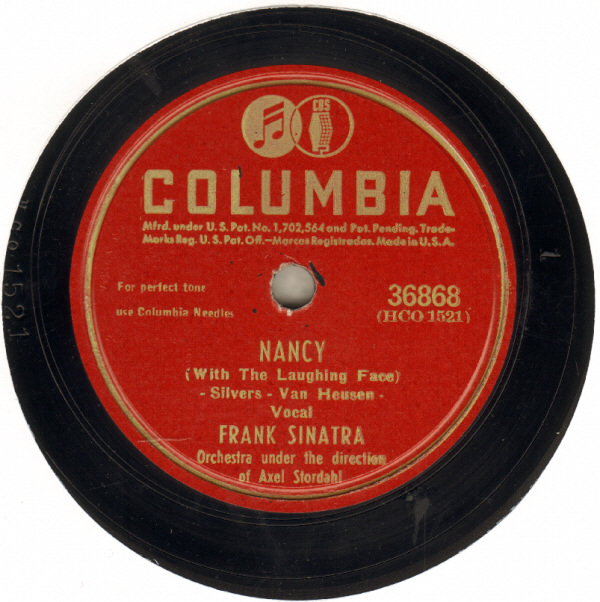 Frank Sinatra Nancy - With The Laughing Face cover art