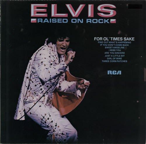 Elvis Presley Raised On Rock cover art