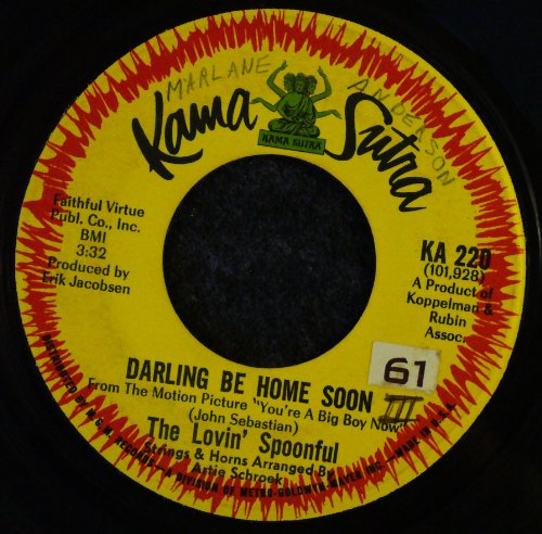 Lovin' Spoonful Darling, Be Home Soon cover art