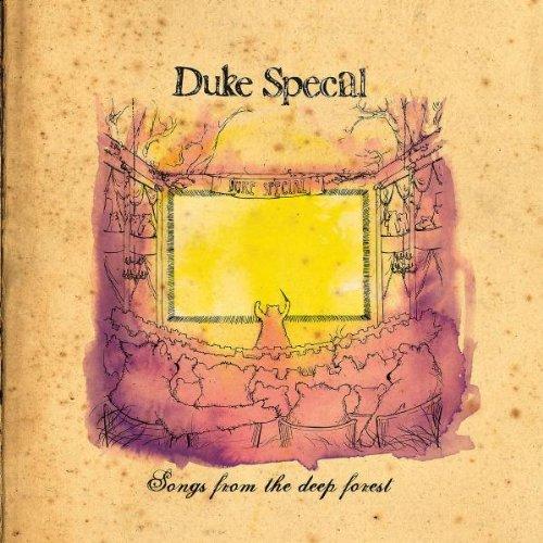 Duke Special No Cover Up cover art