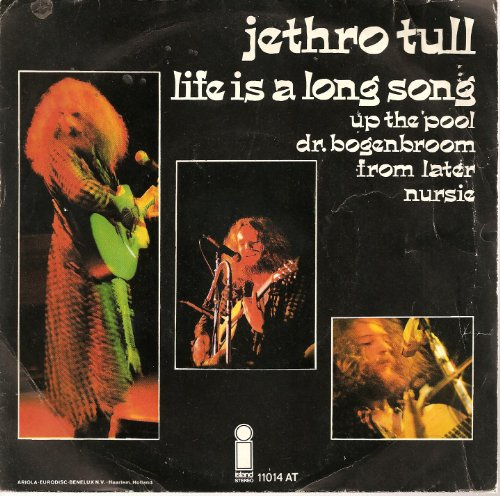 Jethro Tull Life Is A Long Song cover art
