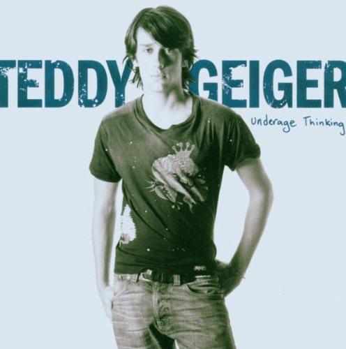 Teddy Geiger Thinking Underage cover art