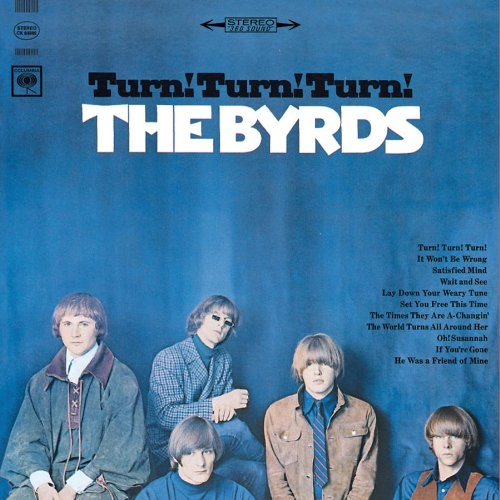 The Byrds Turn! Turn! Turn! (To Everything There Is A Season) cover art