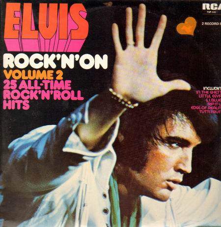 Elvis Presley I Need Your Love Tonight cover art