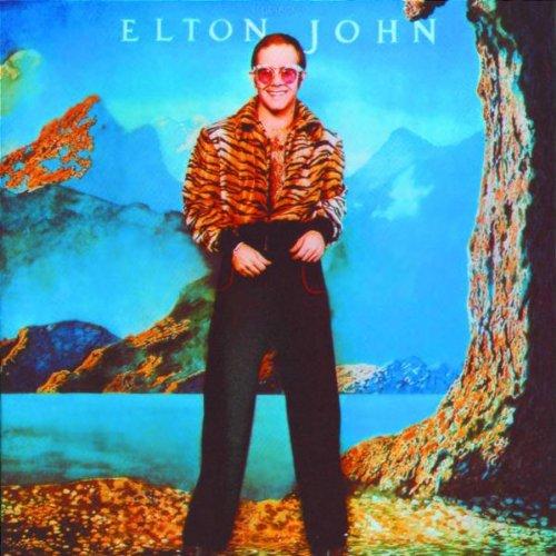 Elton John The Bitch Is Back cover art
