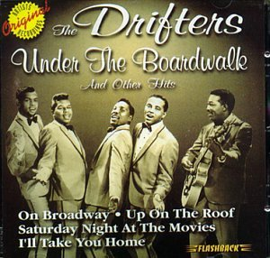 The Drifters There Goes My Baby cover art
