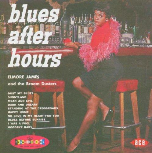 Elmore James Dust My Blues cover art