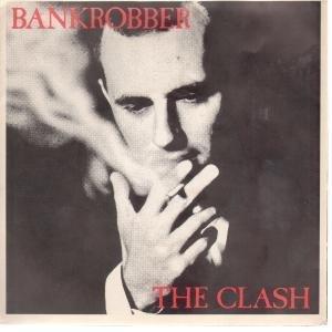 The Clash Bankrobber cover art