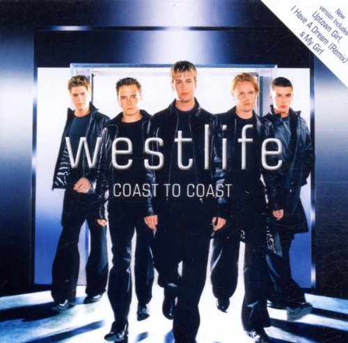 Westlife What Makes A Man cover art