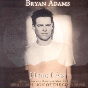 Bryan Adams Here I Am (End Title) cover art