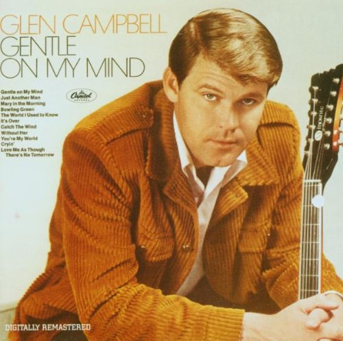 Glen Campbell Gentle On My Mind cover art