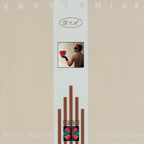 Eurythmics Here Comes The Rain Again l'art de couverture