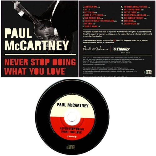 Paul McCartney Listen To What The Man Said cover art