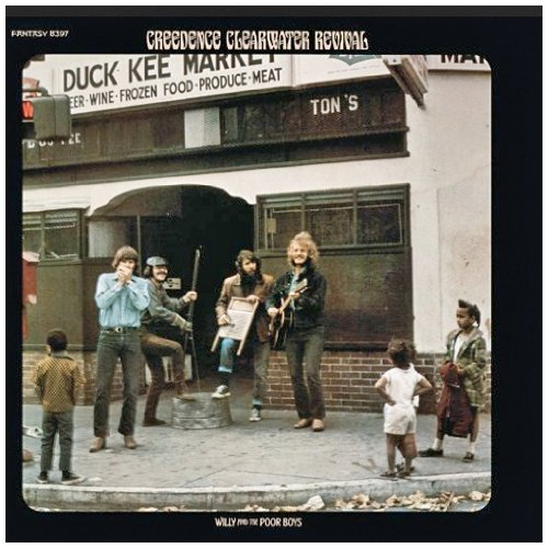 Creedence Clearwater Revival Fortunate Son cover art
