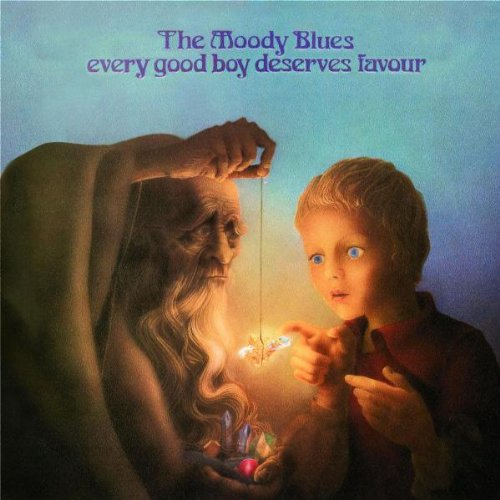 The Moody Blues The Story In Your Eyes cover art