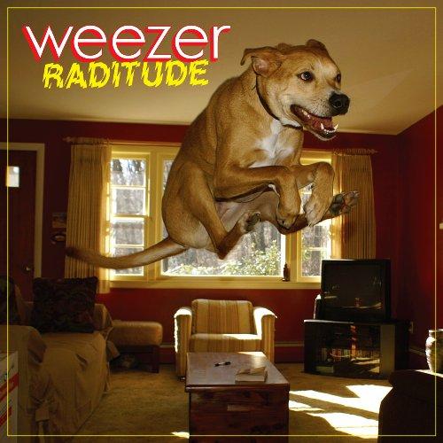 Weezer The Girl Got Hot cover art