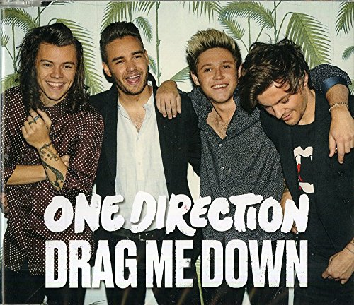 One Direction Drag Me Down cover art