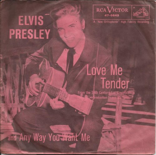 Elvis Presley Any Way You Want Me cover art