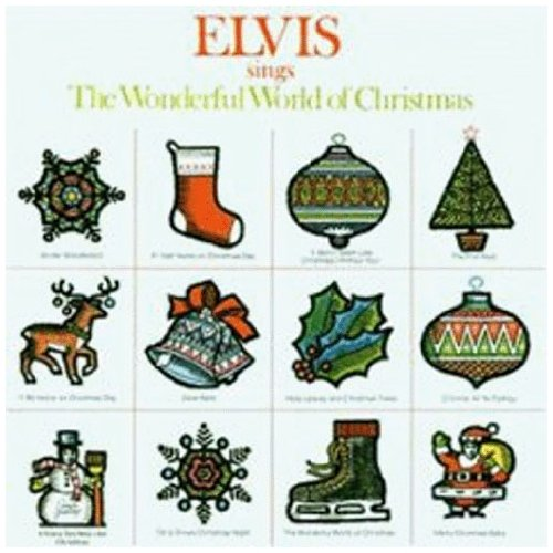 Elvis Presley The Wonderful World Of Christmas cover art